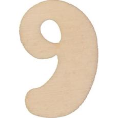 Lesena številka 9, 3.5 cm