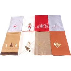 Prt namizni, božični, 85x85cm, 100% poliester, barvno sort.