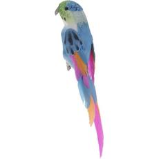 Papagaj na ščipalki, 1/1, 15cm, različne barvne kombinacije, sort.
