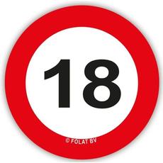 Set Konfeti XL Prometni Znak 18