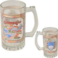 Slovenija, Vrč za pivo, steklen, velik
