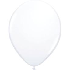 Baloni beli iz lateksa, 10kom, 30cm