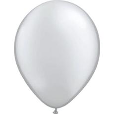 Baloni srebrni iz lateksa, 10kom, 30cm