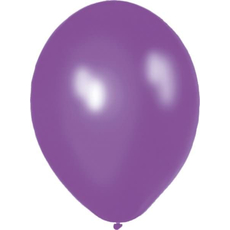 Baloni vijolični iz lateksa, 10kom, 30cm