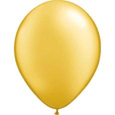 Baloni zlati iz lateksa, 10kom, 30cm
