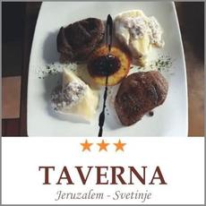 Darilni bon Srna Steak Žar Taverna Jeruzalem