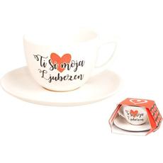 Lonček Kava Krožnik Ljubezen