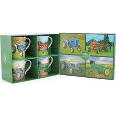 "Set lončkov, ""Traktor"" 4/1, porcelan, 8.5cm"
