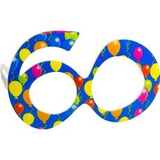 Smešna očala v obliki št. 60, modra