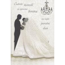 Voščilo Čestitka Poroka Hčer Mož Poročni Dan