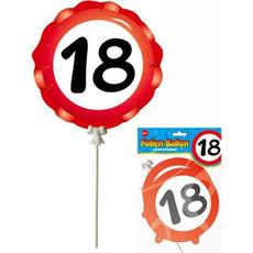 Balon Palčka Prometni Znak 18