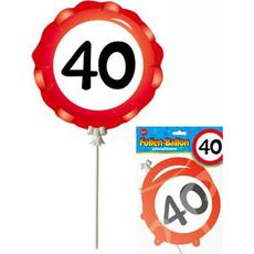 Balon Palčka Prometni Znak 40