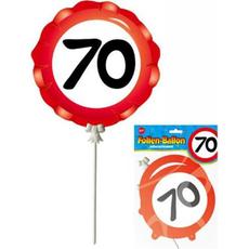 Balon Palčka Prometni Znak 70