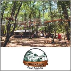 {[sl]:Obisk adrenalinskega parka za 1 osebo, Adrenalin park, Medulin (Vrednostni bon, izvajalec sto