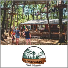 {[sl]:Družinska vstopnica za obisk adrenalinskega parka, Adrenalin park Medulin (Vredno