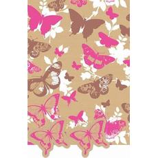 """Darilni papir in obešanka """"Butterfly"""" 50x70cm, 2/1"""