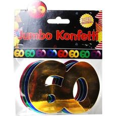 """Jumbo konfeti, 20kom, """"60"""""""