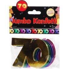 """Jumbo konfeti, 20kom, """"70"""""""