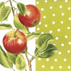 Papirnate serviete, jabolka, 33x33cm, 20kom