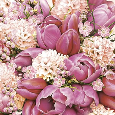 Papirnate serviete, tulipani, 33x33cm, 20kom