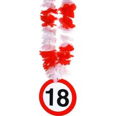 Party ogrlica, prometni znak 18, 14cmx55cm