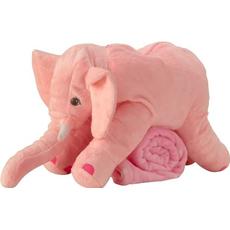 Pliš Igrača Slon Roza Otroci Odejica