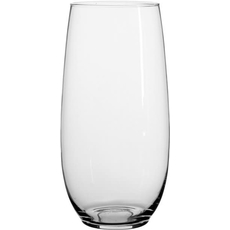 Vaza steklena, ovalna, 30cm