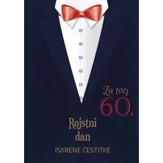 Voščilo Čestitka Črna Sako 60 Rojstni Dan Iskrene Čestitke