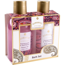 Kopalni set, Romantic Vintage - Pomegranate & Shea Butter, 2/1