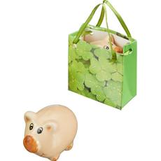 Pujsek v darilni vrečki, polimasa, 5cm