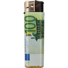 Vžigalnik, motiv bankovca, 100evro