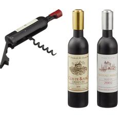Odpirač za steklenice, v obliki vinske steklenice, 11cm, sort.