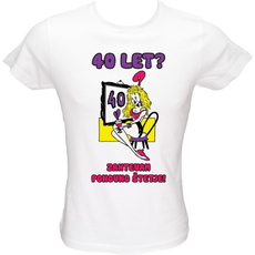 Majica ženska (telirana)-40 Let Zahtevam ponovno štetje XL-bela