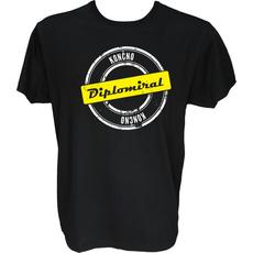 Majica-Končno diplomiral XL-črna