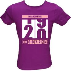 Majica ženska (telirana)-Mladometer 20 L-vijolična