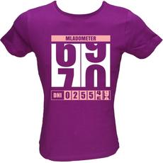 Majica ženska (telirana)-Mladometer 70 S-vijolična