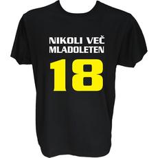 Majica-Nikoli več 18 let M-črna
