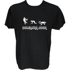 Majica-Dolenjska joga XXL-črna