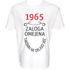 Majica-1965, zaloga omejena, takšnih ne delajo več M-bela