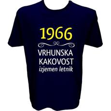 Majica-1966, vrhunska kakovost, izjemen letnik M-temno modra