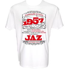 Majica-Najboljše iz leta 1957 L-bela