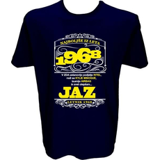 Majica-Najboljše iz leta 1968 L-temno modra