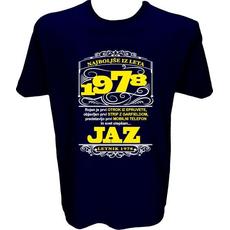 Majica-Najboljše iz leta 1978 XL-temno modra