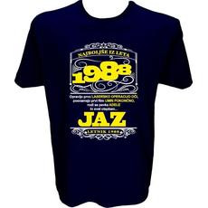 Majica-Najboljše iz leta 1988 L-temno modra