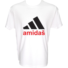 Majica-Amidaš XXL-bela