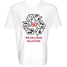 Majica-Recikliran najstnik 50 let