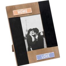 "Okvir lesen, za sliko 10x15cm, ""Home-Love"", 19x24cm"