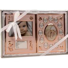 Okvir za otroške slike, s prostorom za rojstne podatke, 37x23cm