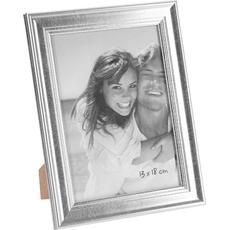 Okvir za sliko 13x18cm, srebrn, 21.5x16.5cm