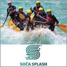 {[sl]:Klasični rafting na reki Soči za 1 osebo, Soča Splash, Bovec (Vrednostni bon, izvajalec storitev